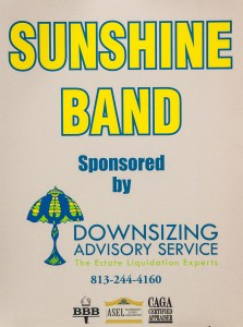 Sunshine Band Spnsors